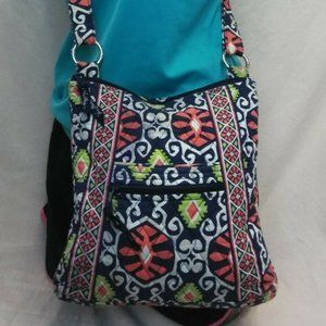 Vera Bradley Hipster Cross Body Shoulder Bag